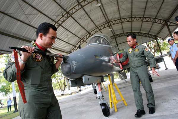 pesawat F-22 Raptor jatuh