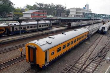 jalur kereta api menuju Borobudur