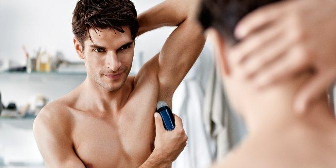Waktu memakai Deodoran