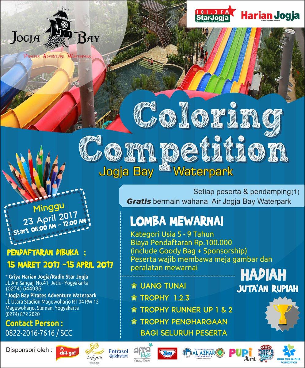 Star Jogja Coloring Competition Diikuti Ratusan Peserta