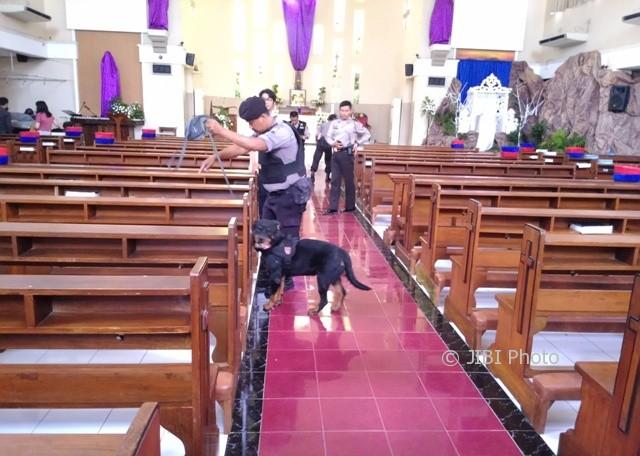 gereja isolasi corona