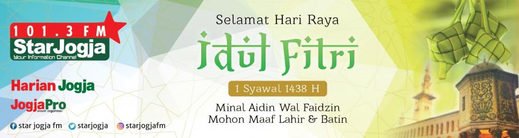 Banner Idul Fitri 2017 StarJogjaFM