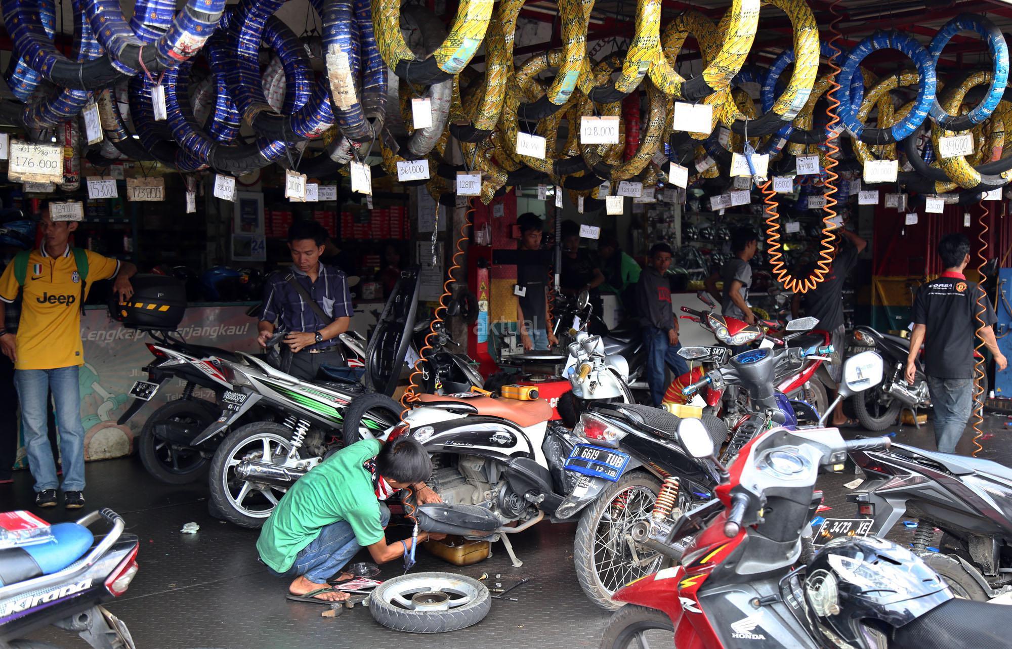 sepeda motor terbanyak dunia
