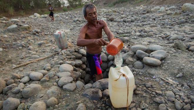 warga imogiri kesulitan air