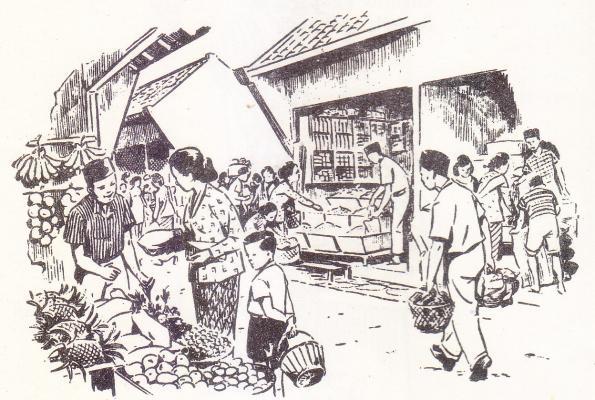 los sementara Pasar Prawirotaman