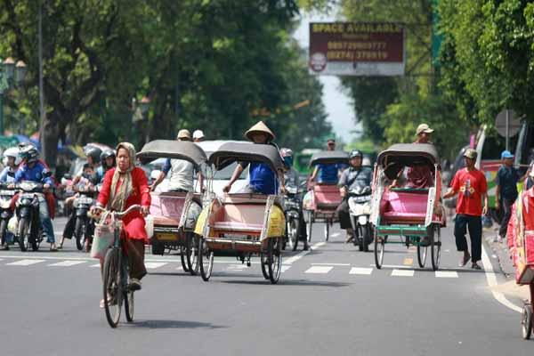 pesepeda Yogyakarta meninggal