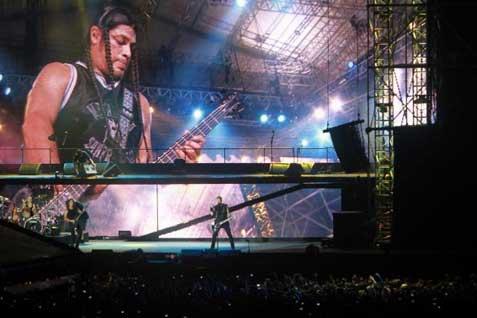 Metallica kebakaran