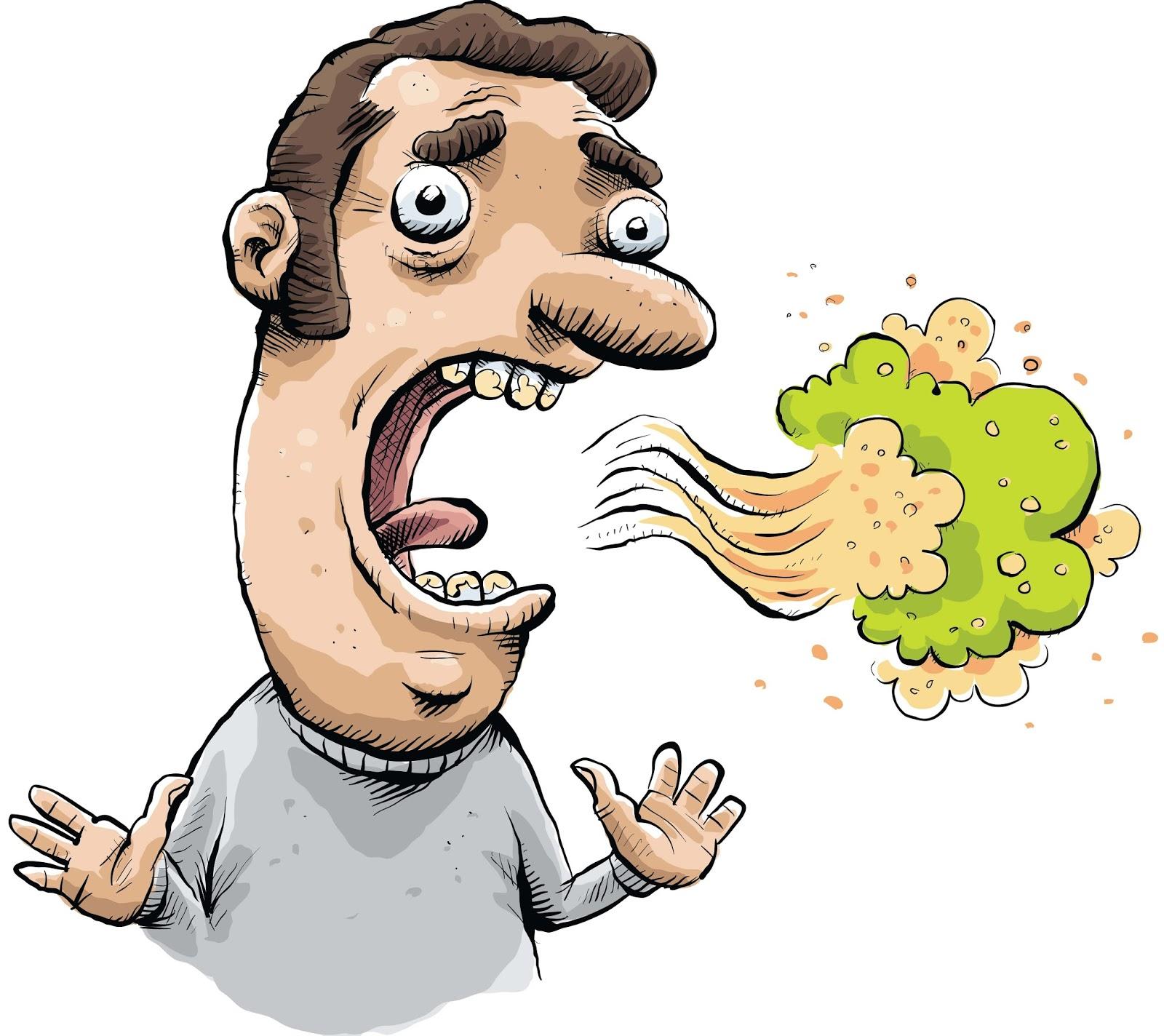 bau mulut gejala diabetes