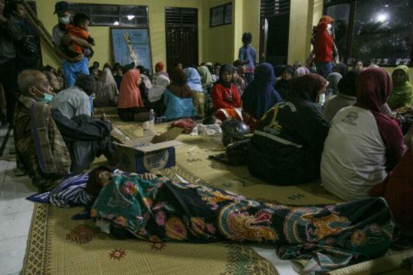 pengungsi Merapi
