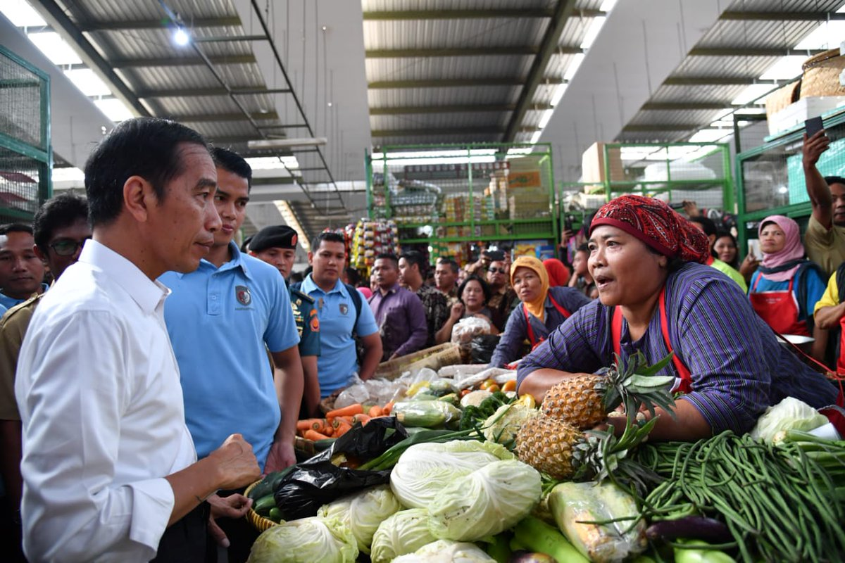 pedagang Pasar Kranggan