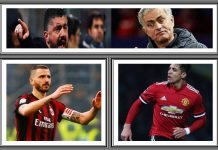 AC Milan versus Manchester United di Intercontinental Champions Cup 2018
