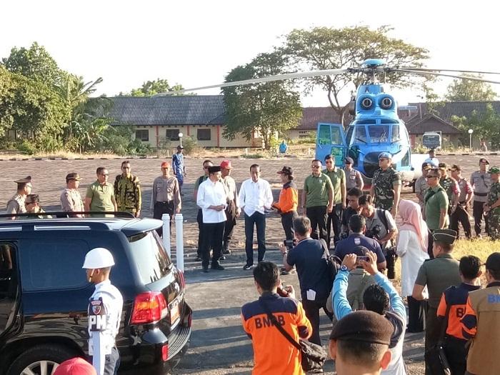 anak-anak korban bencana gempa Lombok