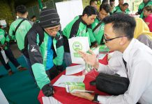 Pendapatan ojek online Yogyakarta