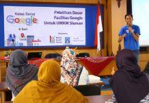 Otak-Atik Fasilitas Google untuk Kembangkan UMKM Sleman