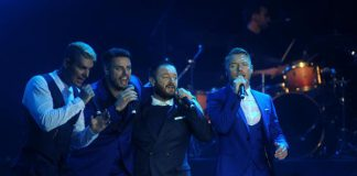 Boyzone Sukses Bikin Penonton Histeris di Prambanan Jazz 2018