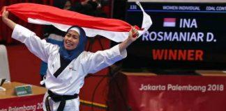 Atlet Taekwondo Indonesia, Defia Rosmaniar