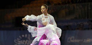 atlet pewushu putri Lindswell Kwok