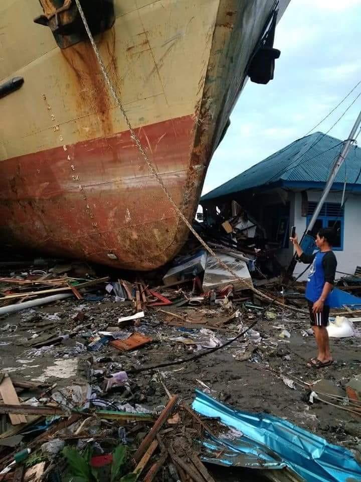 FOTO : Dampak Kerusakan Gempa di Palu - Star Jogja FM