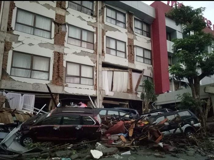 Kerusakan Pasca Gempa dan Tsunami di Palu