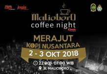 Malioboro Coffee Night 2018