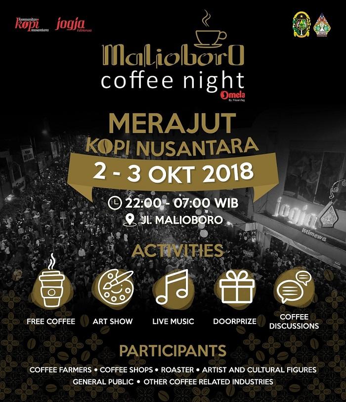 Malioboro Coffee Night 2018