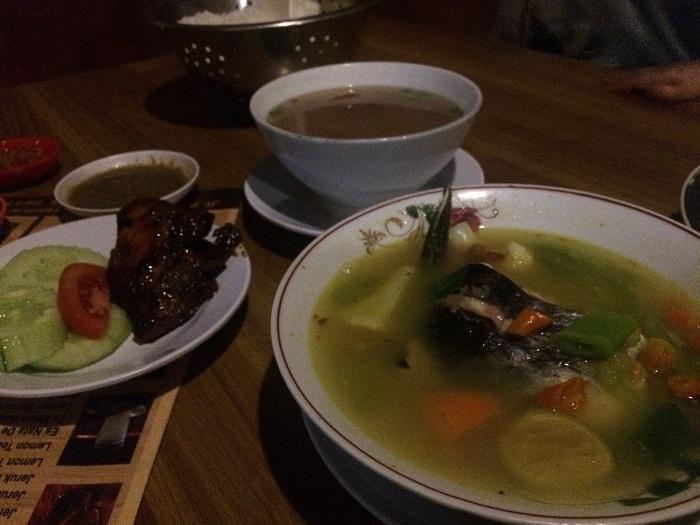 Makan Malam Menu Soup Di Warung Selaras Kalasan Star Jogja Fm
