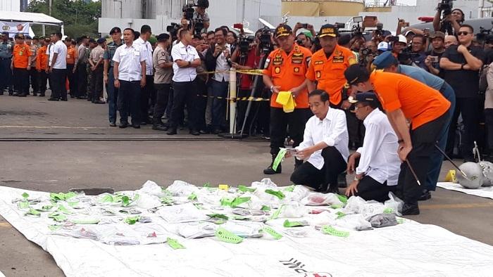 Presiden Joko Widodo Kunjungi Posko Basarnas