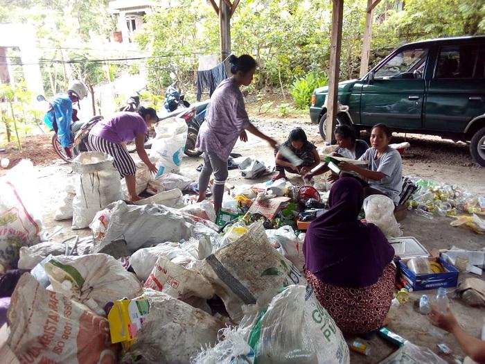 Pengurangan sampah Kota Jogja