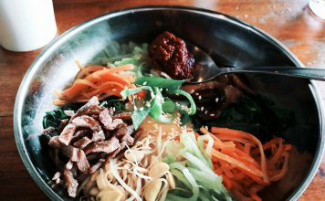 Bibimbap makanan tradisional Korea