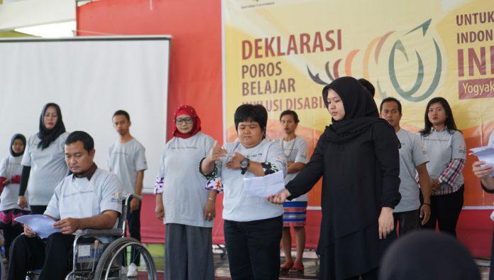 Deklarasi Poros Belajar Inklusi Disabilitas