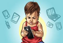 Bahayanya Anak Main Ponsel