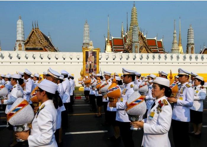 aksi protes thailand