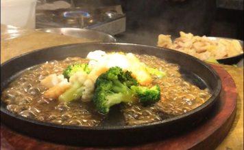 seafood hotplate