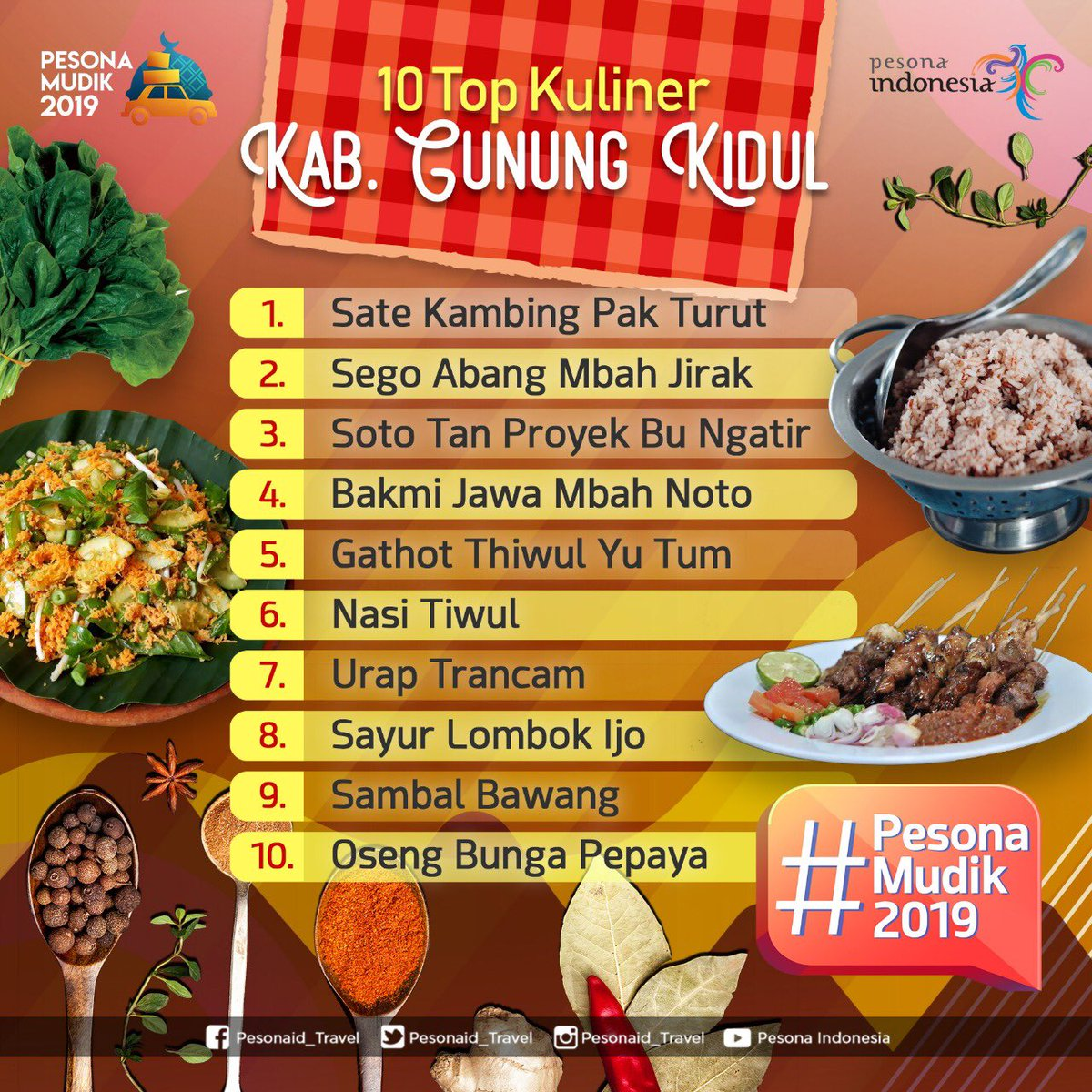 Kuliner Khas Gunungkidul Yang Wajid Dicicipi Star Jogja Fm