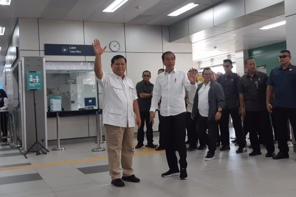 Pertemuan Jokowi Prabowo