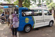 mobil pajak keliling BKAD Bantul