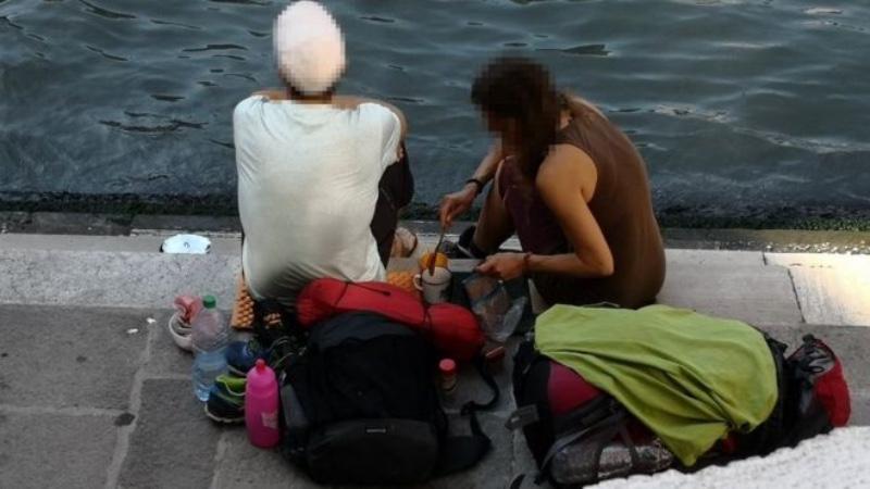 Dua turis asal Jerman