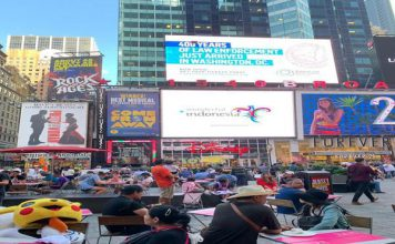 Promosi 'Wonderful Indonesia' Merambah Jalanan New York & Los Angeles