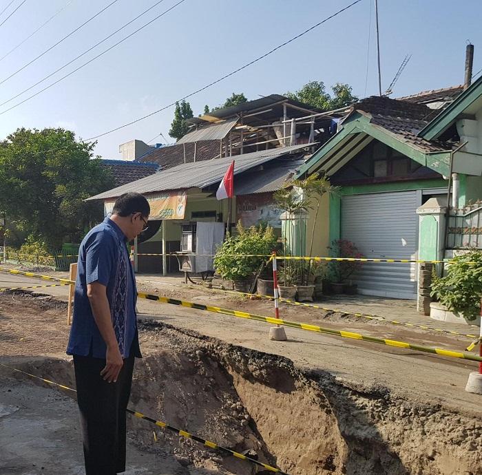 Proyek SAH di Jalan Babaran Diteruskan