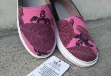 sepatu dari limbah kulit
