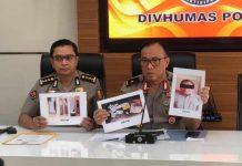 tiga orang terduga teroris