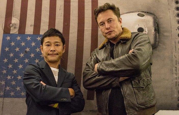 Elon Musk tidur