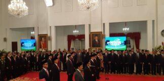 Jokowi resmi melantik 12 Wamen