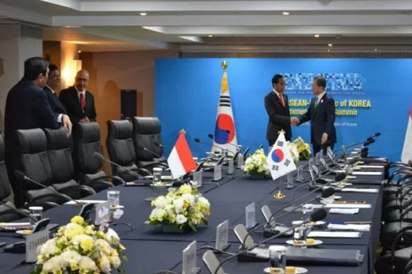 Presiden Moon Jae in