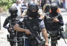 teroris mati ditembak polisi