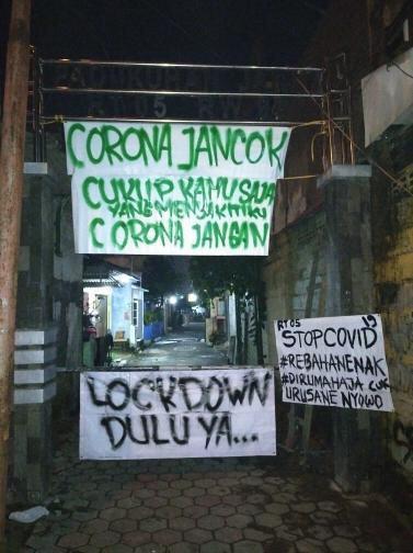 lockdown kampung