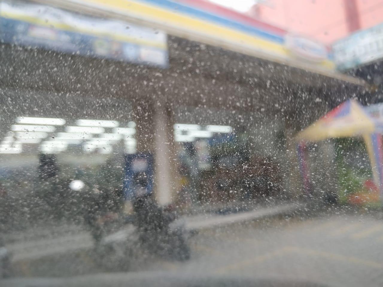 hujan abu boyolali