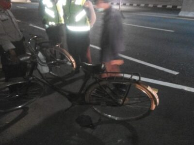 pesepeda meninggal dunia mendadak
