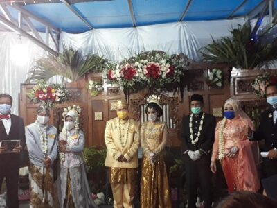 Pernikahan unik di Yogyakarta