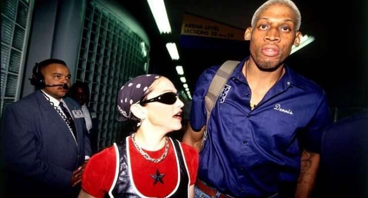 Dennis Rodman dan Madonna